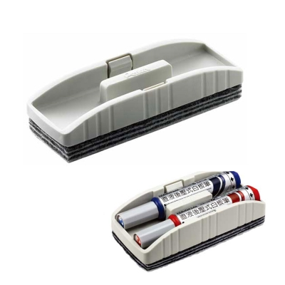 【Pentel飛龍】 XWER-S 收納型白板擦-小(12入)
