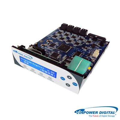 Vinpower-Digital鯊魚專業-1對2硬碟拷貝機-HDD-SSD對拷機-控制器