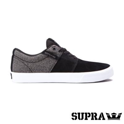 SUPRA Stacks II VULC系列男鞋-黑/灰