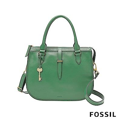 FOSSIL RYDER 真皮圓弧包-綠色