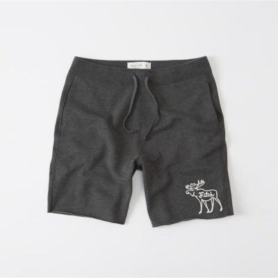 AF a&f Abercrombie & Fitch 短褲 灰色 004