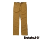 Timberland 男款棕色純棉舒適多口袋工作褲