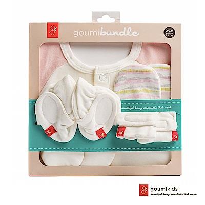 美國GOUMIKIDS有機棉新生兒彌月禮盒-舞動波