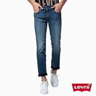 Levis 男款 511低腰修身窄管牛仔長褲 高彈力面料
