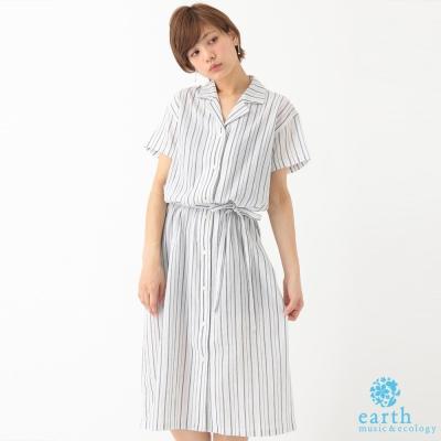 earth-music-ecology-襯衫式洋裝