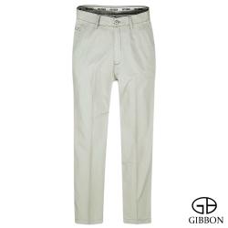 GIBBON 立體條紋輕量平口休閒褲‧淺灰31~42