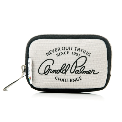 Arnold Palmer- 零錢包 Casual 學院休閒系列-淺灰色