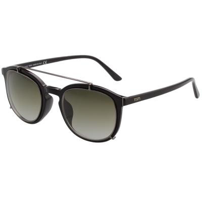 TOD'S 帥氣飛行員款 太陽眼鏡 (黑色)TO181F