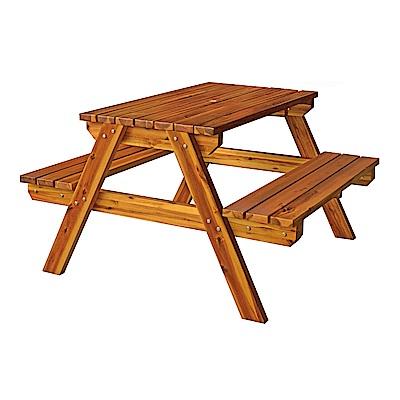 H&D 實木啤酒桌椅組 (寬120X深150X高75cm)