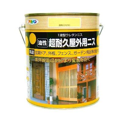 日本製超耐久防變色保護清漆1.8L