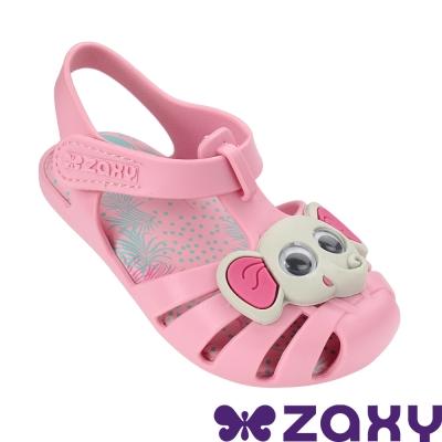 Zaxy 巴西 寶寶 動物甜心寶寶休閒涼鞋 粉色