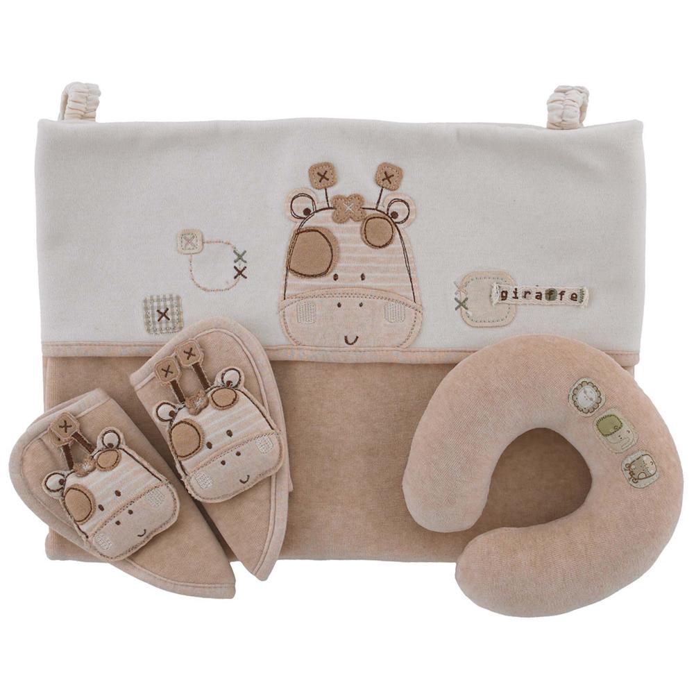 英國Natures Purest天然有機棉-棉絨車椅套裝(OASS0071050)