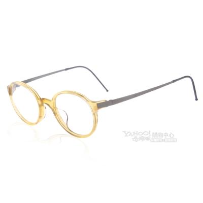 JULIO眼鏡 完美工藝/透棕黃#COPENHAGEN HON