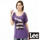 Lee 短袖T恤 露肩設計-女款(紫)