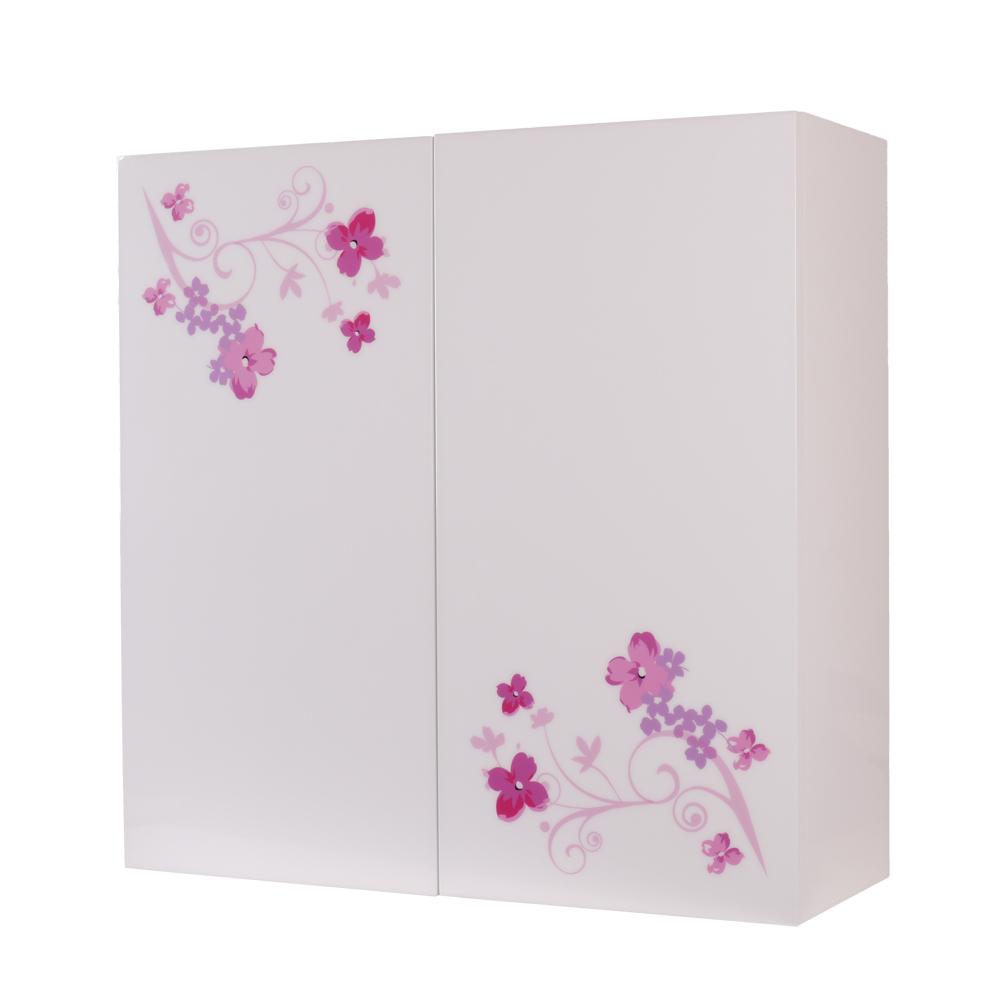 I-Cabinet精緻收納櫃 櫻花紅(對開)