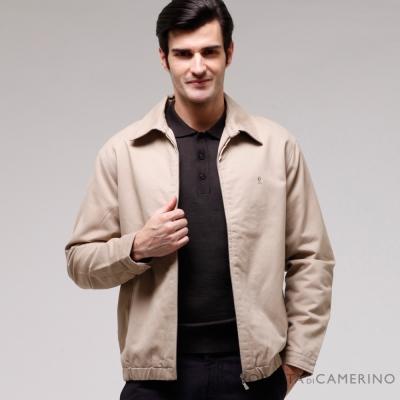 ROBERTA諾貝達 經典純棉休閒夾克外套 卡其