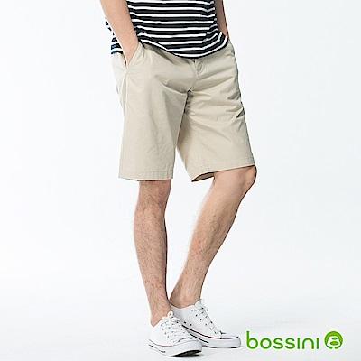bossini男裝-速乾素色短褲01淺卡其