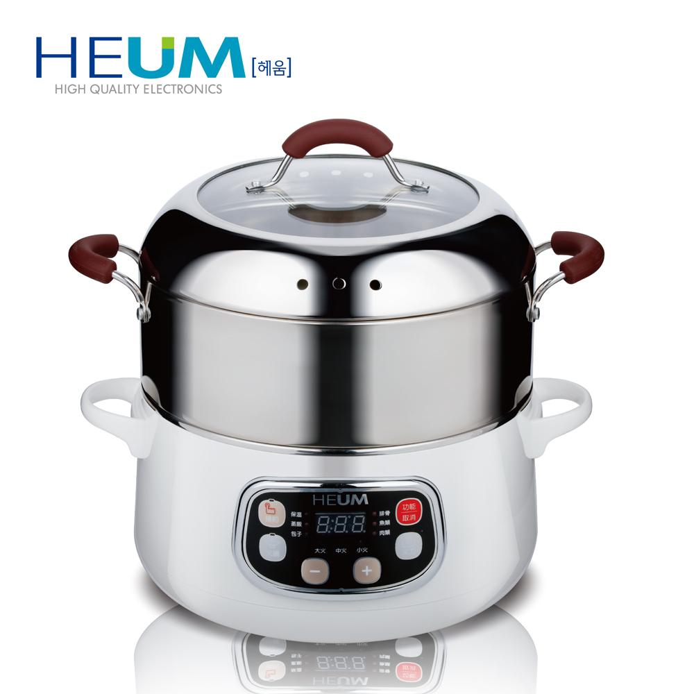 韓國HEUM饗鮮多功能電蒸火鍋HU-RK1288(二層)