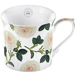 CreativeTops Kew骨瓷馬克杯(白玫瑰230ml)