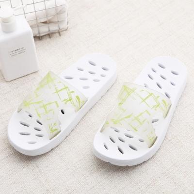 333家居鞋館 韓系兩用排水透氣家居拖鞋-綠色
