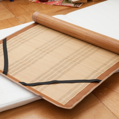 LAMINA 平單式碳化竹蓆 3x6尺 單人