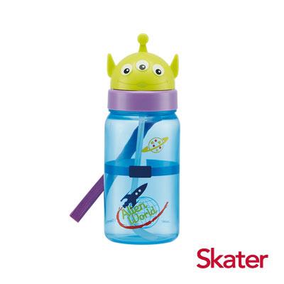 Skater造型吸管水壺(350ml)三眼怪