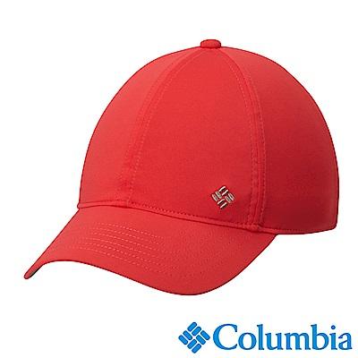 Columbia哥倫比亞 女款-抗UV50涼感棒球帽-紅色 (UCL94960RD)