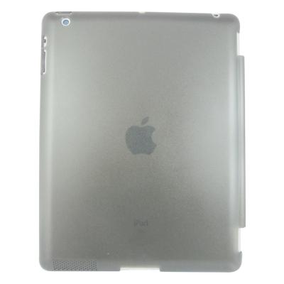 J25剔透款ipad4/3/2平板水晶殼&螢幕保護貼組