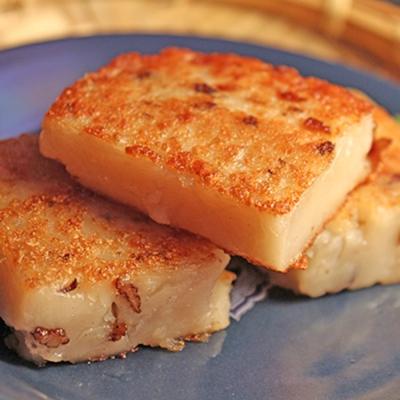 台南麻豆助 富粿滿堂-港式菜頭粿2入