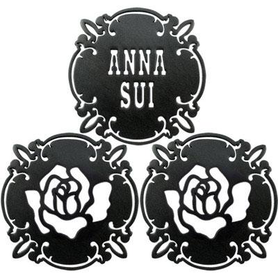 ANNA SUI 安娜蘇 魔法薔薇杯墊組