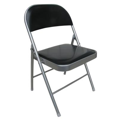 Dr. DIY [重型超厚椅座]折疊椅子-6入/組(黑/紅)