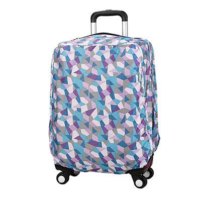 CARANY卡拉羊 加厚材質炫彩旅行箱專用箱套(藍色菱形/20吋)58-0037C-D1