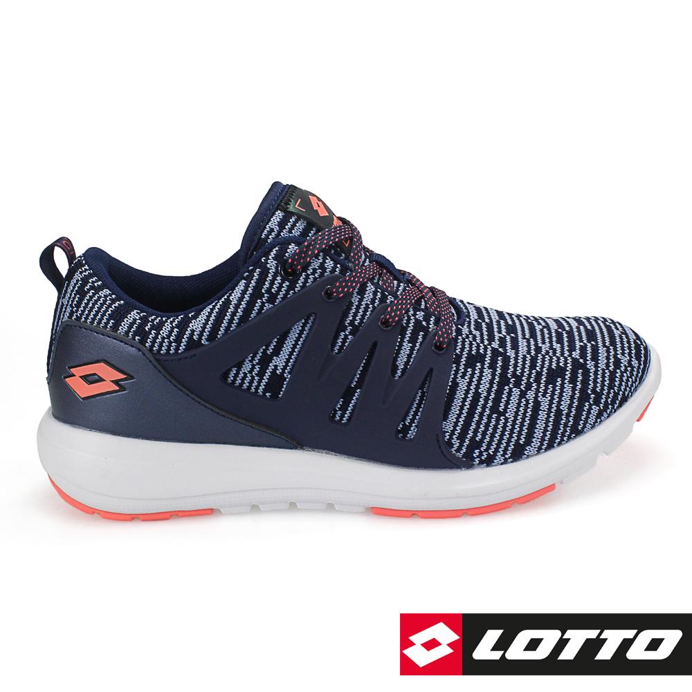 LOTTO 義大利 女 CITYRIDE潮流都會跑鞋-灰藍