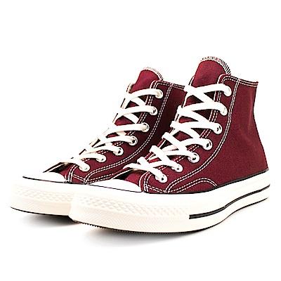 CONVERSE-男女休閒鞋162051C-酒紅