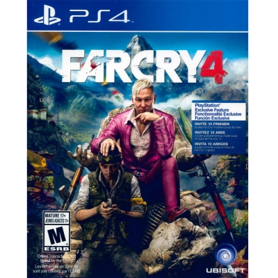 極地戰嚎 4 FAR CRY 4 -PS4英文美版