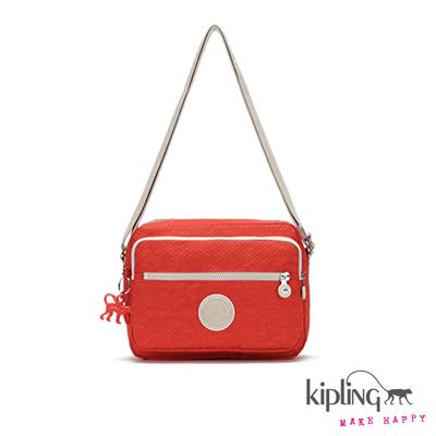 Kipling-手提包-葡萄柚橘素面