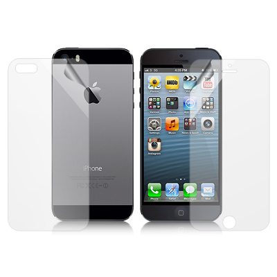魔力 APPLE iPhone5/5S/SE 霧面防眩螢幕保護貼(附背面貼)