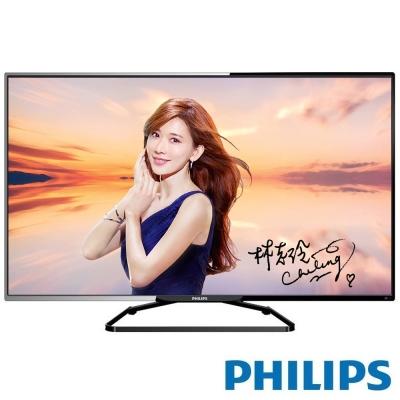 PHILIPS飛利浦 55吋 LED淨藍光液晶顯示器+視訊盒 55PFH5280