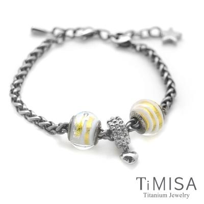 TiMISA 點點心 純鈦串飾 手鍊
