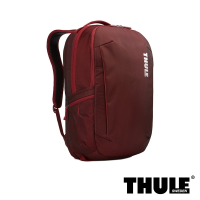 Thule Subterra 雙層電腦後背包(磚紅色/15.6 吋筆電適用)