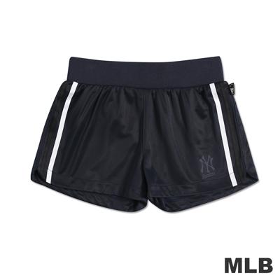 MLB-紐約洋基隊舒適休閒短褲-深藍-女