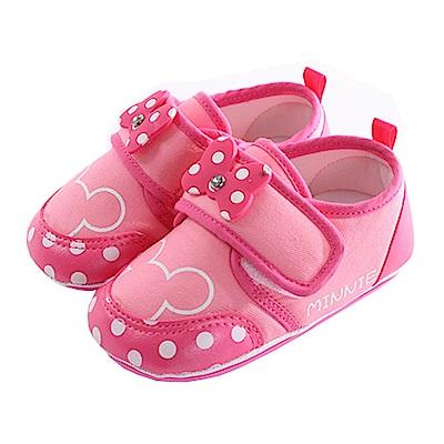 迪士尼米妮魔鬼貼止滑鞋 桃 sk0296 魔法Baby