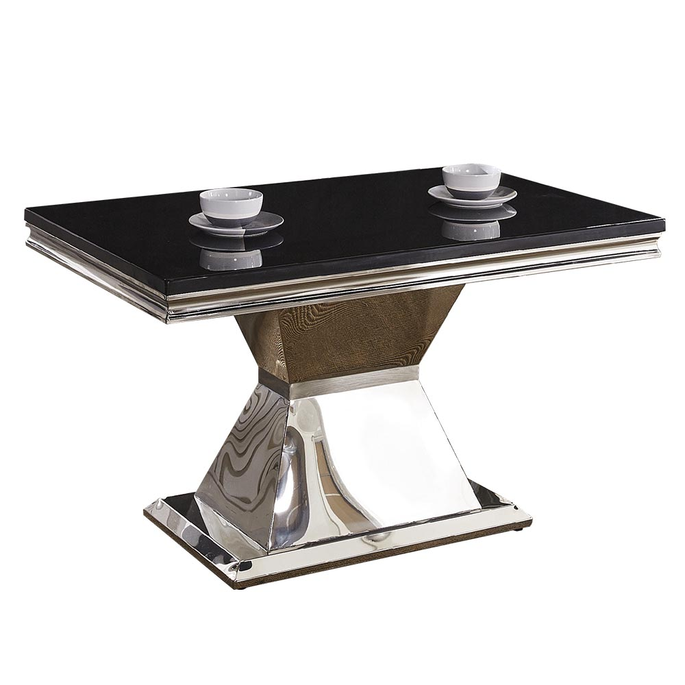 AT HOME 瓊恩5尺黑晶原石餐桌(150*90*77cm)