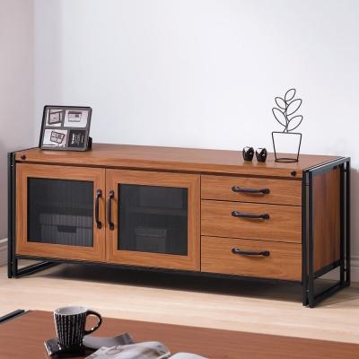 品家居 歐普拉<b>5</b>尺三抽長櫃/電視櫃-150x45x57cm-免組