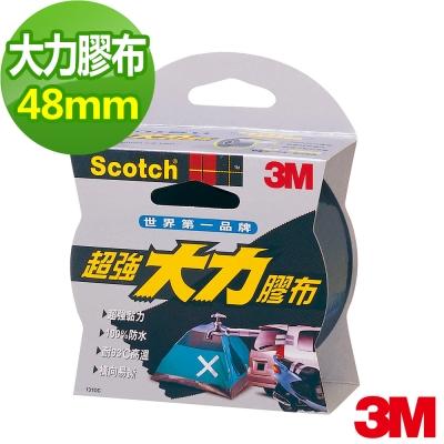 3M SCOTCH 超強大力膠布-48mm(黑)
