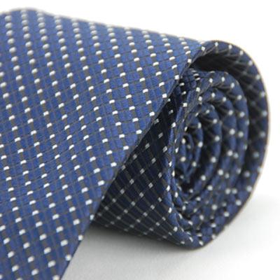 Alpaca 深藍白點領帶