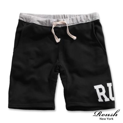 ROUSH RUH 貼布設計水洗棉質短褲(3色)