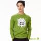 bossini男裝-印花長袖T恤06綠