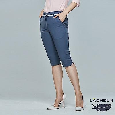 【LACHELN】吸濕排汗休閒七分褲(L81W704)