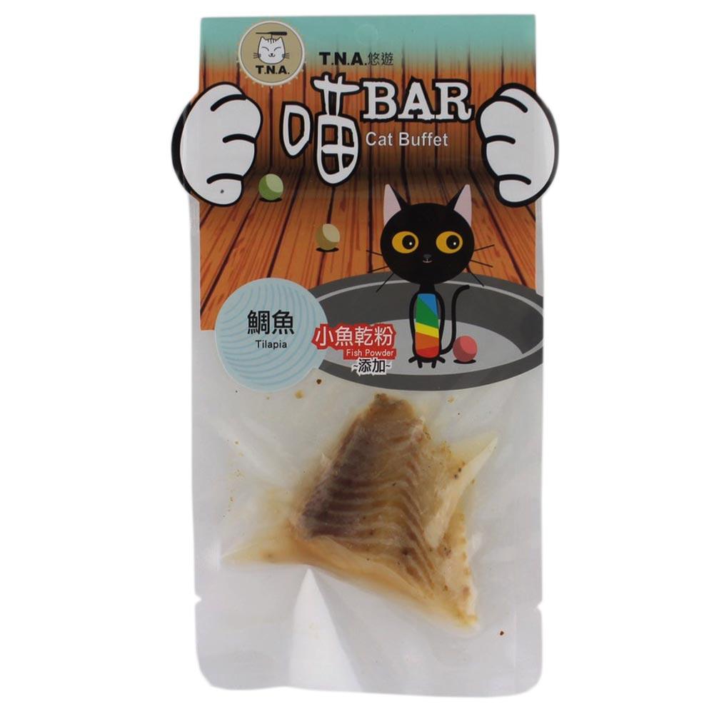 T.N.A.悠遊喵系列 喵Bar - 鯛魚片 20g x 5包